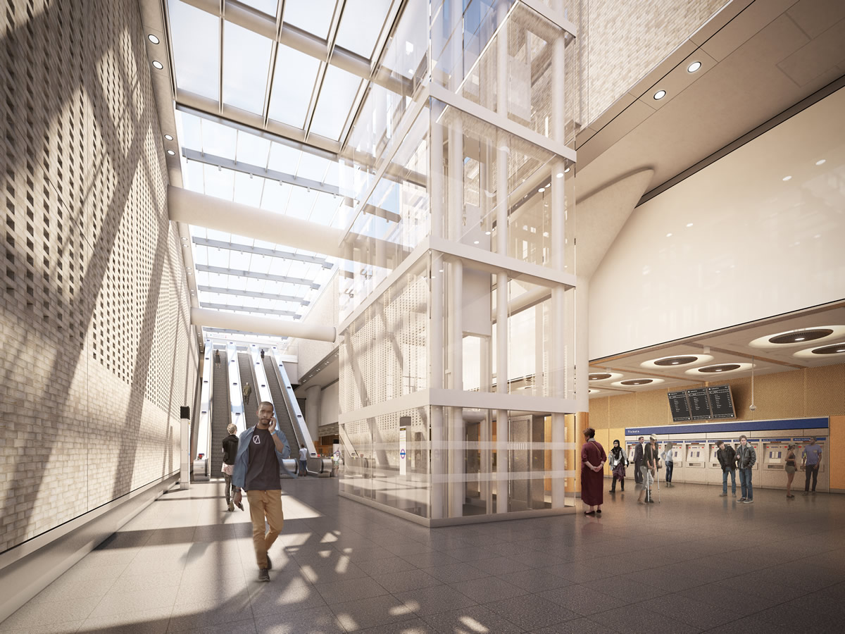 01 Paddington Station - proposed ticket hall_235985