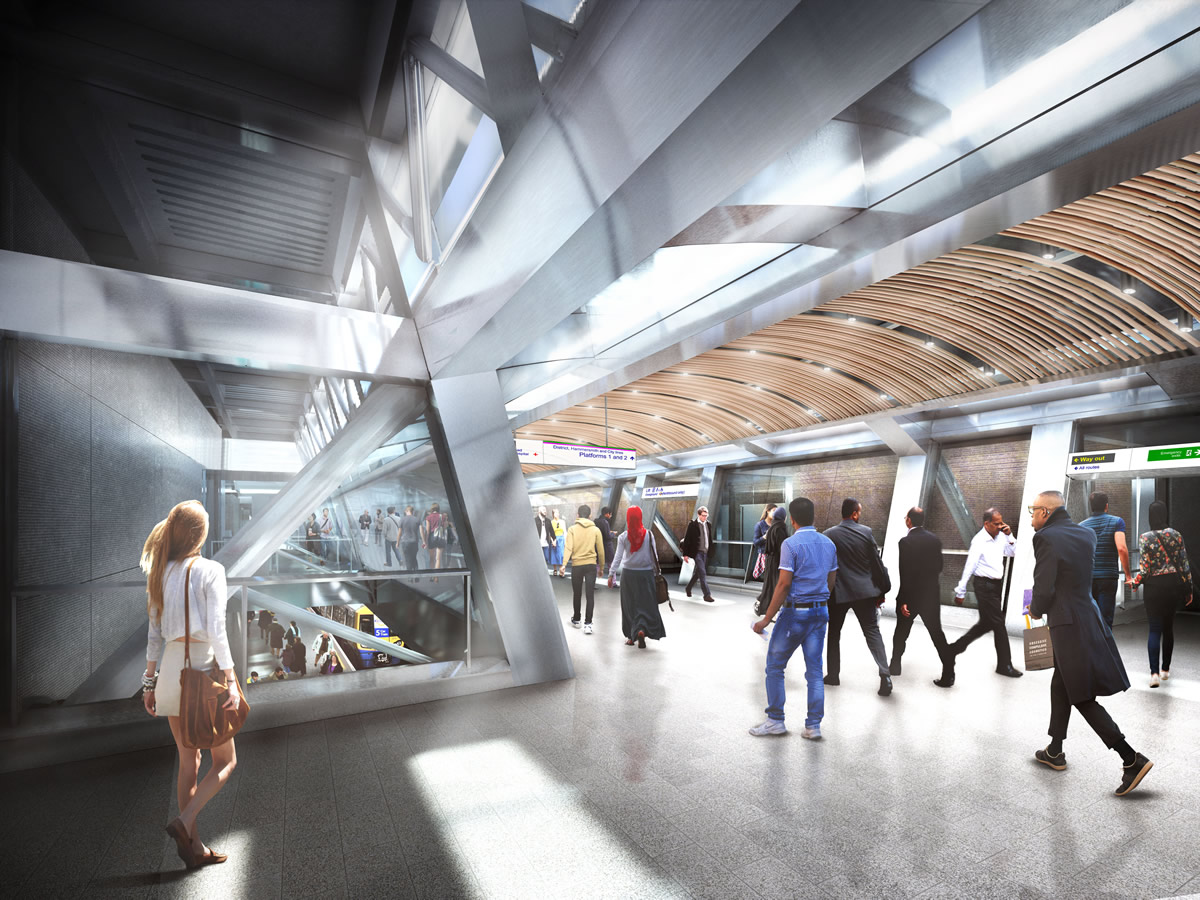 06 Whitechapel station - proposed upper concourse_235990