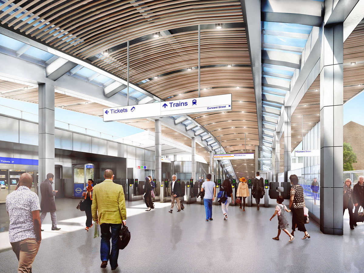 06_Whitechapel_station_-_proposed_ticket_hall_on_Mile_End_road_235989