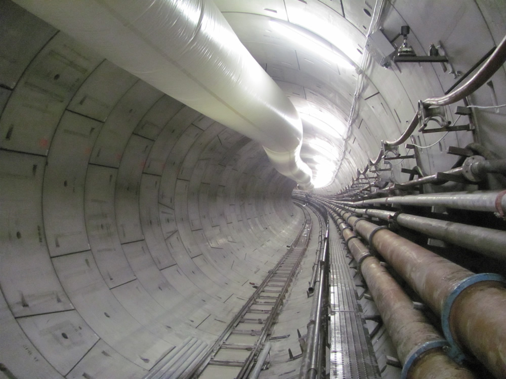 Crossrail's Thames Tunnel