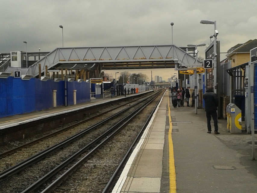 Abbey Wood station today