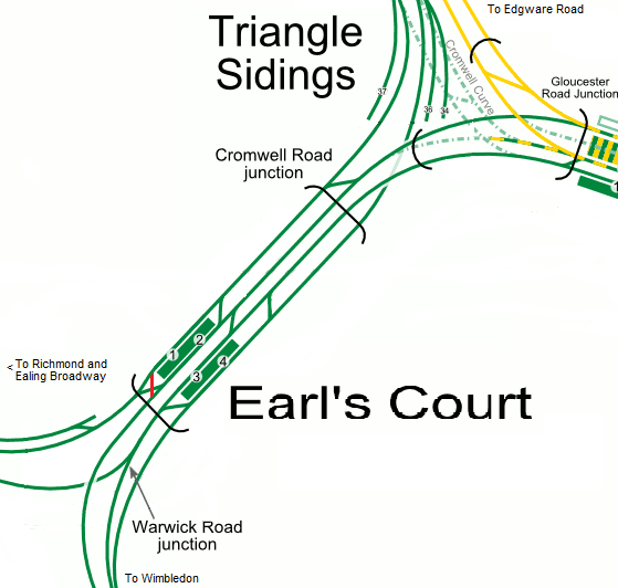 Earl's Court Modified and amended