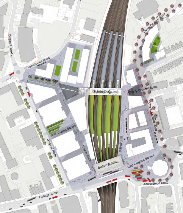 East Croydon Masterplan (illustrative)