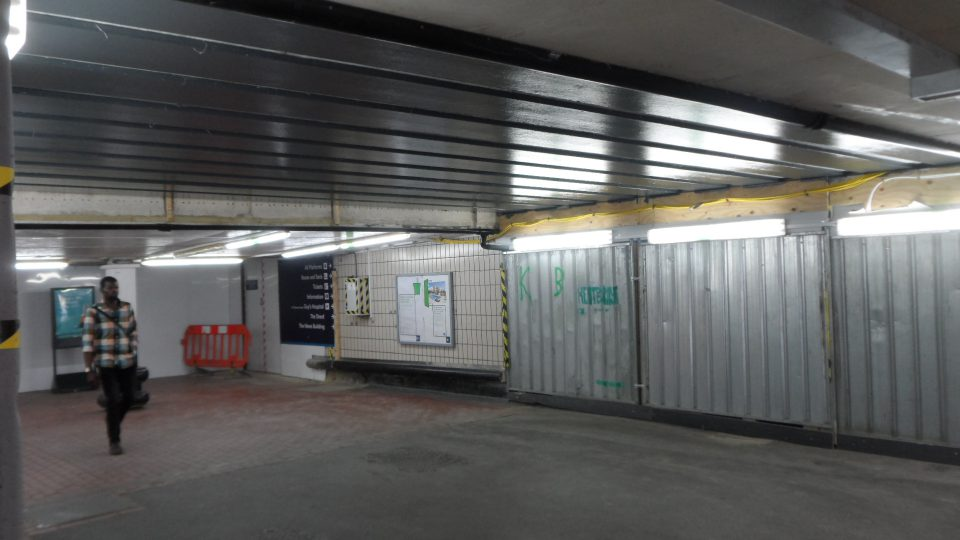 Former Cannon St platform entrance