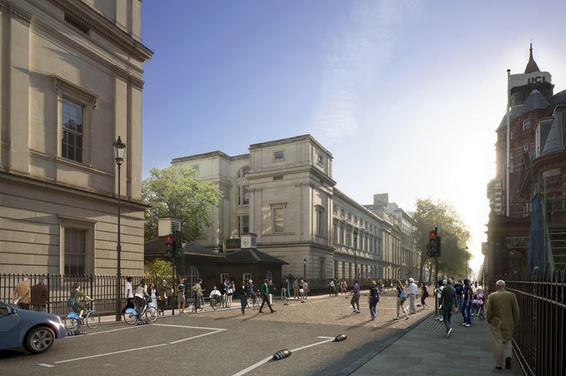 Gower Street as proposed