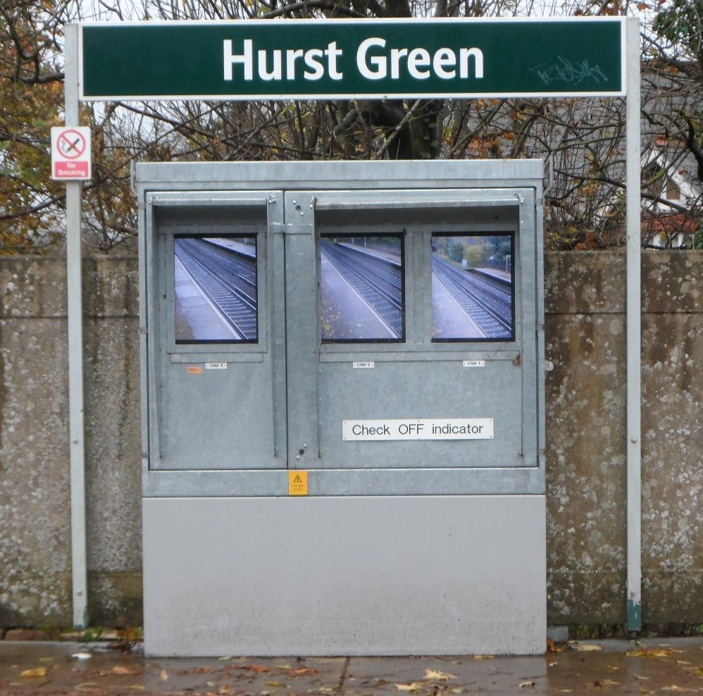 Hurst Green guards monitors