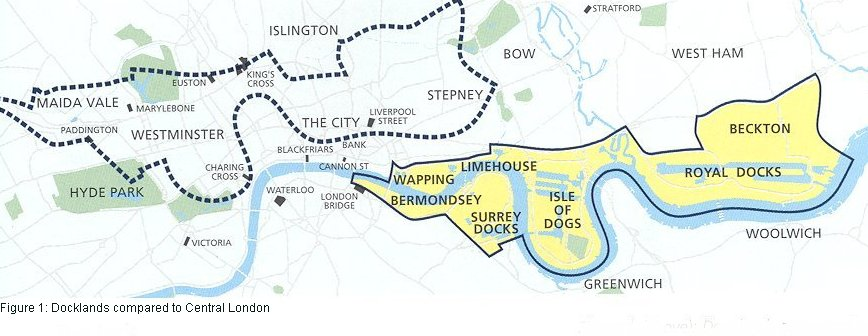 lddc-docklands-remit-compared-to-central-london-lddc