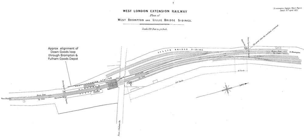 Lillie Bridge 1872 map