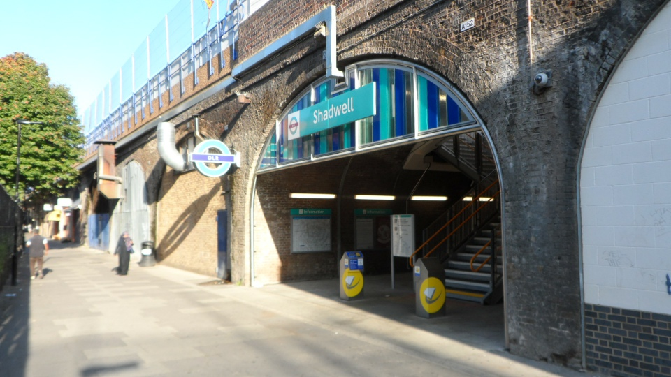 Shadwell New Entrance Street Level