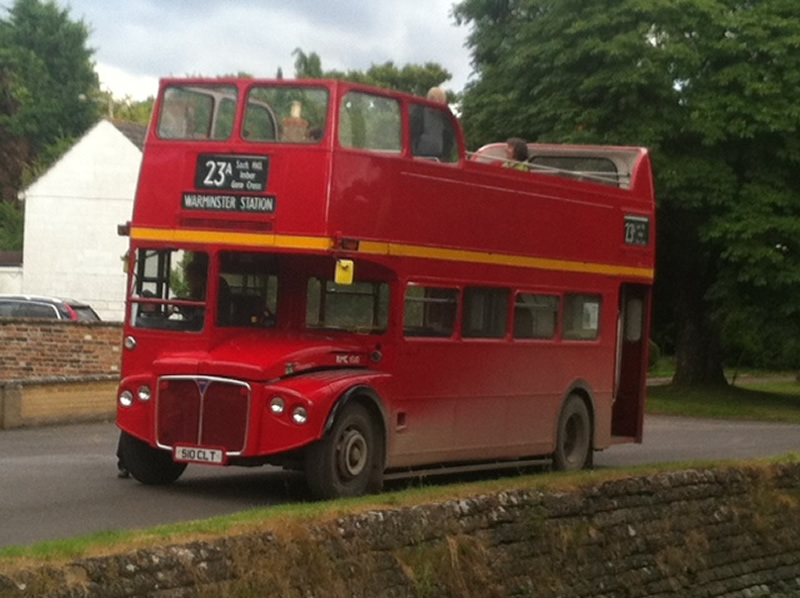 First Berkshire RMC1510 at Chitterne