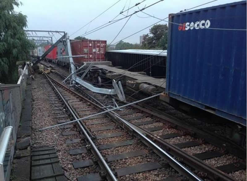 Freight Incident Causes Major Disruption To North London