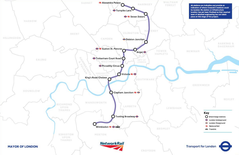Crossrail 2: Metro Option