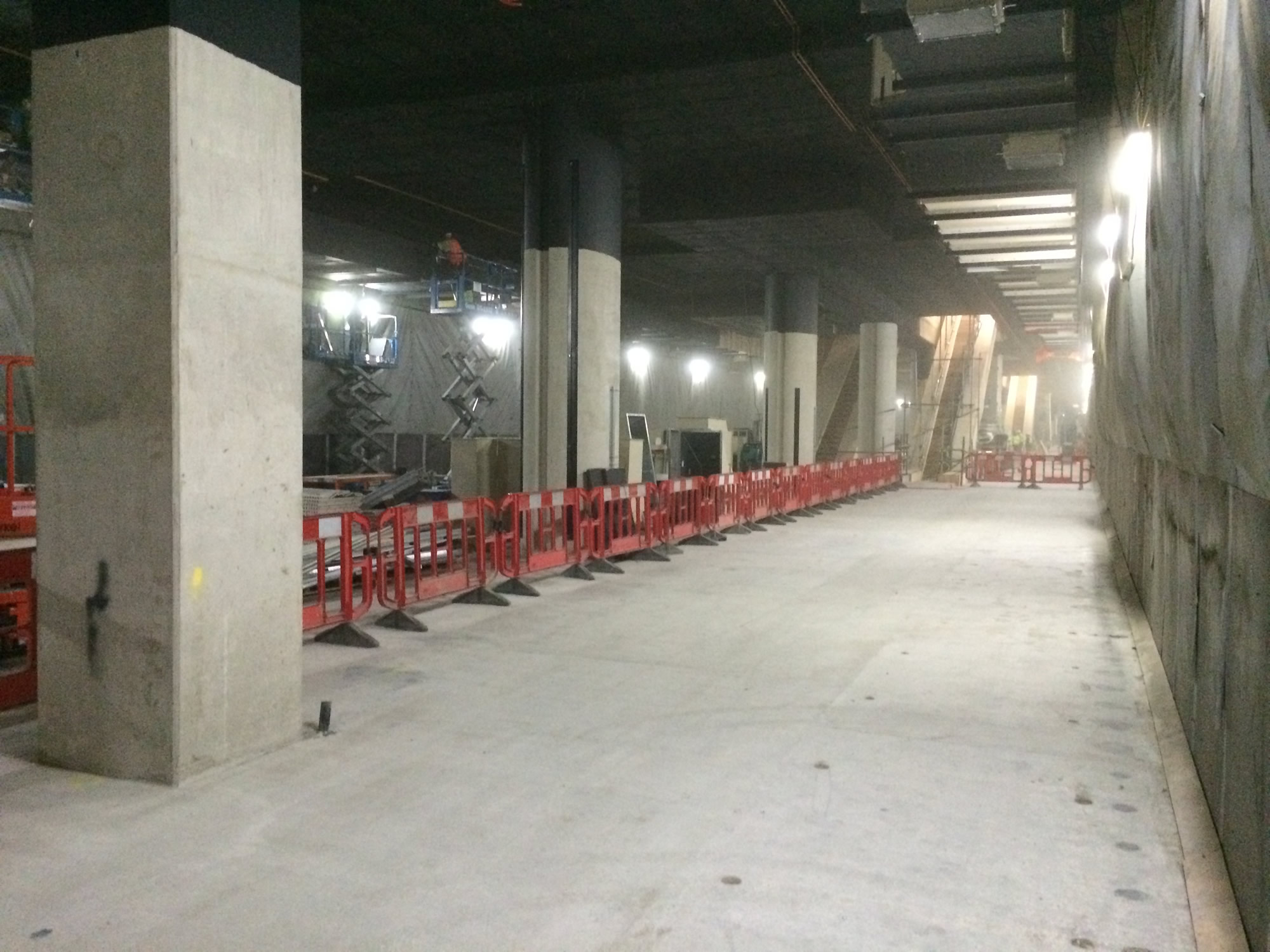 crossrailcanarywharfplatformlevel