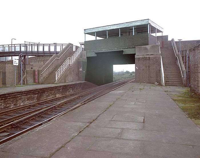 Lea Bridge Station in 1984