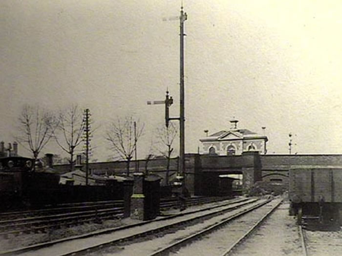 Lea Bridge Station, approx. 1897