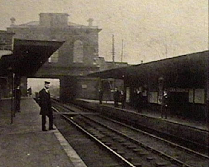 Lea Bridge Station, approx 1907