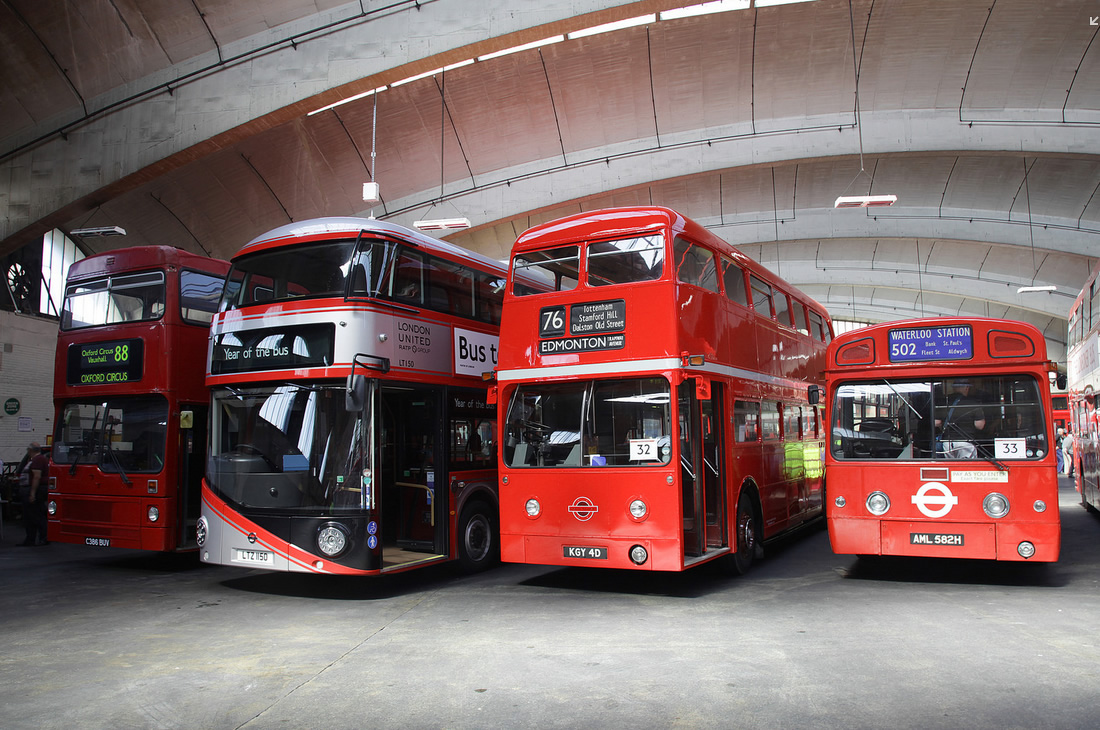 In Pictures Buses Lots And Lots Of Buses London