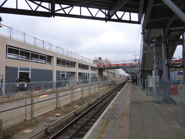 viewed from DLR platform