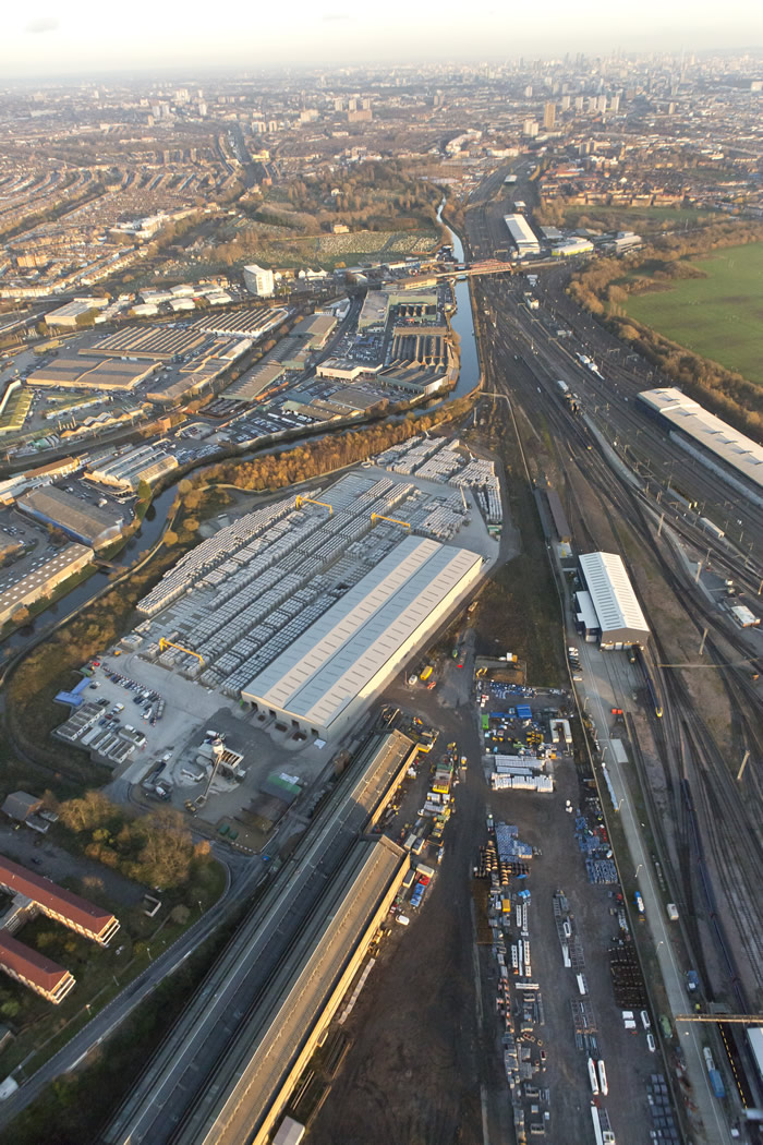The Crossrail Factory at Old Oak Common