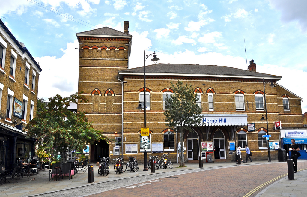 Herne Hill, an attractive Grade II listed station
