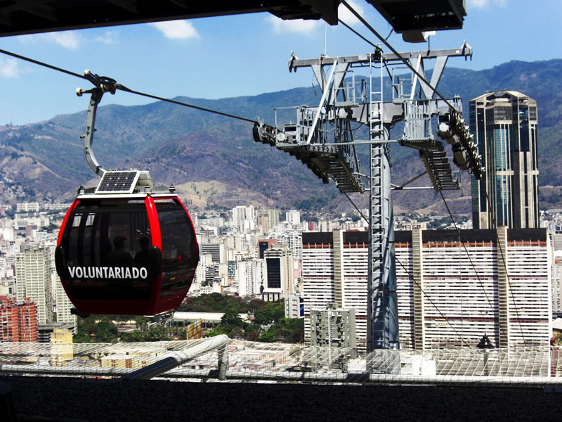 The Caracas Cable Car