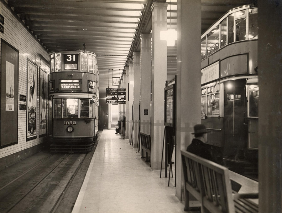 The station in 1933
