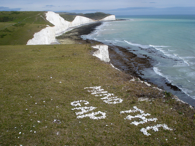 Mind The Gap at the Seven Sisters