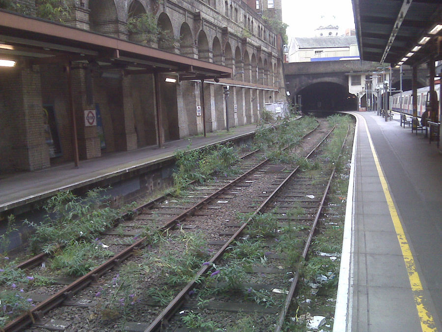 The disused lines at Barbican