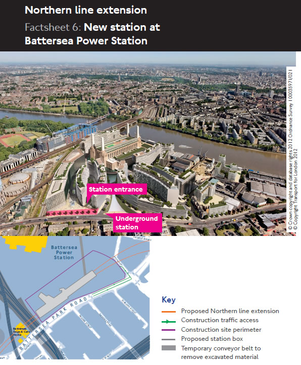 Station Site at Battersea Power Station
