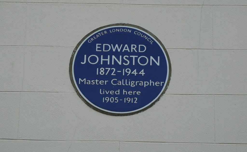 Johnston's Blue Plaque. Courtesy Jamie Barras