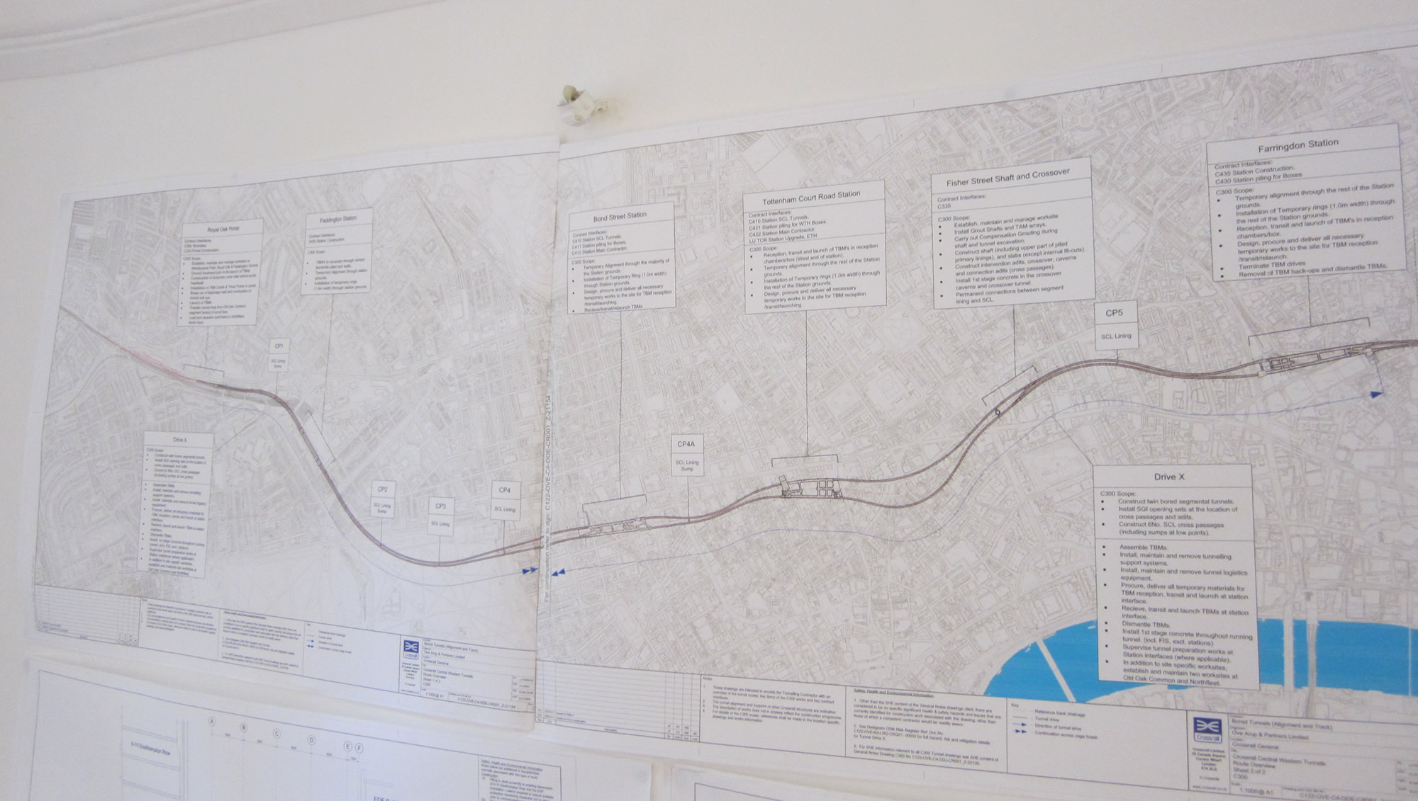 The route of Crossrail