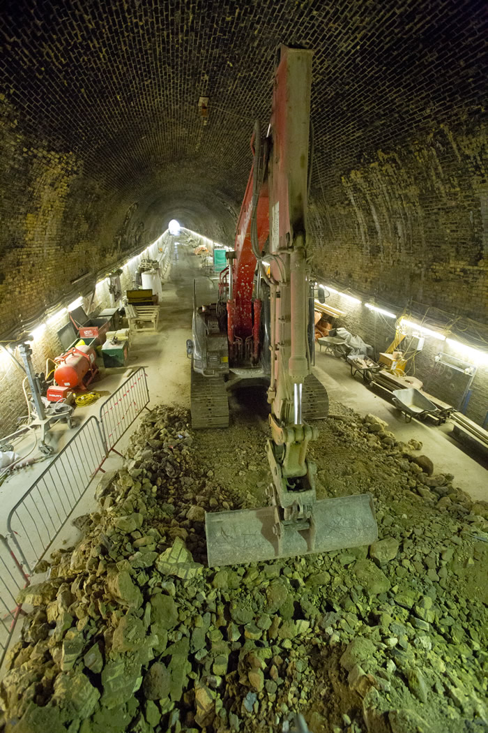 More work in the Connaught Tunnel