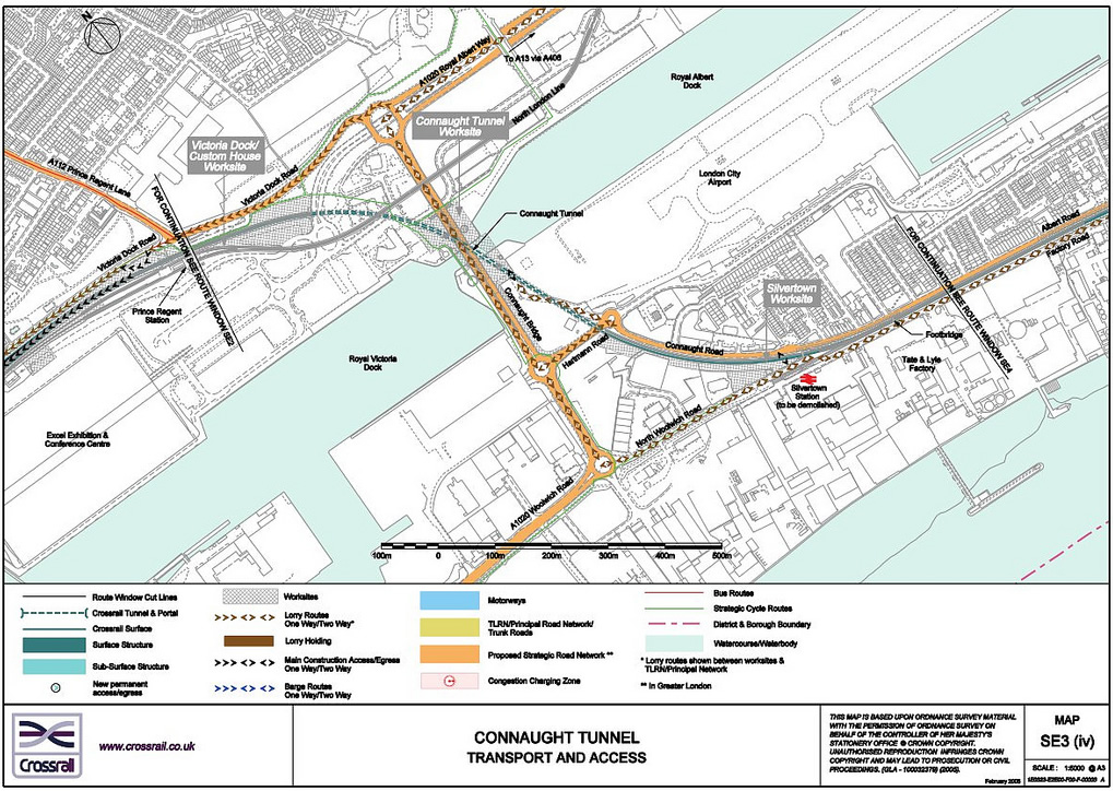 Crossrail's plan for the western end of the Connaught Tunnel