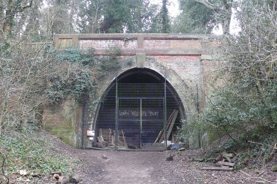 Crescent Wood Tunnel, north portal