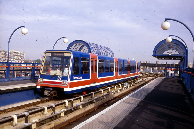 The DLR in 1987