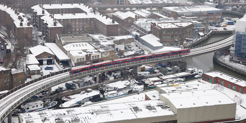 The DLR in the snow