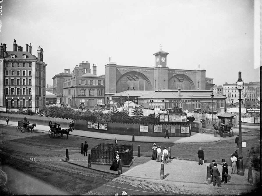 Kings Cross at some point between 1870 - 1900