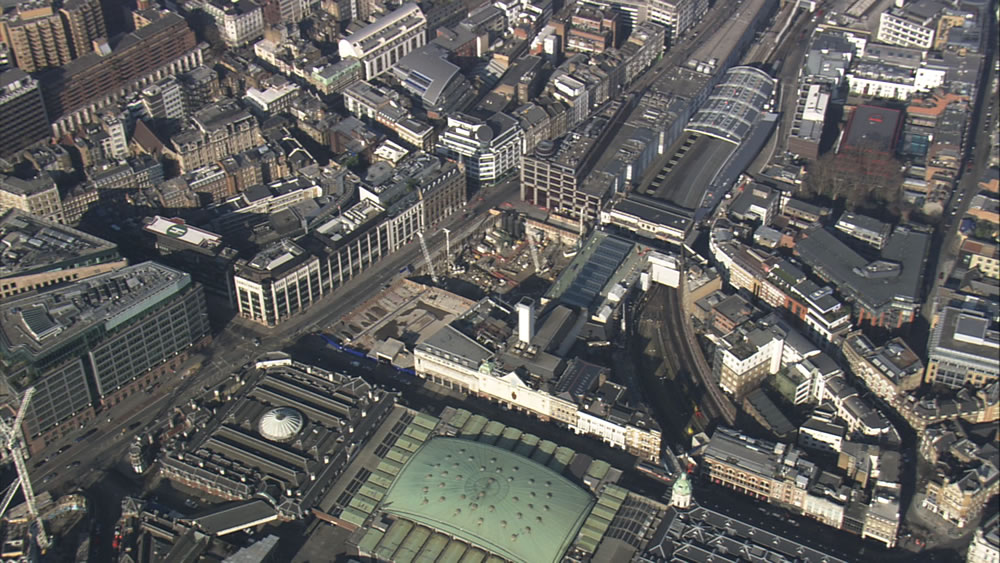 Farringdon from the Air