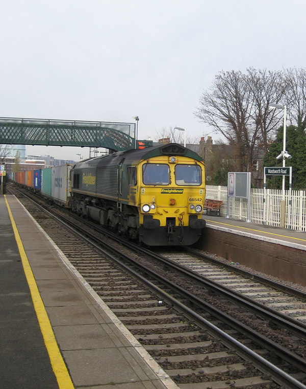 Freight at Wandsworth Road