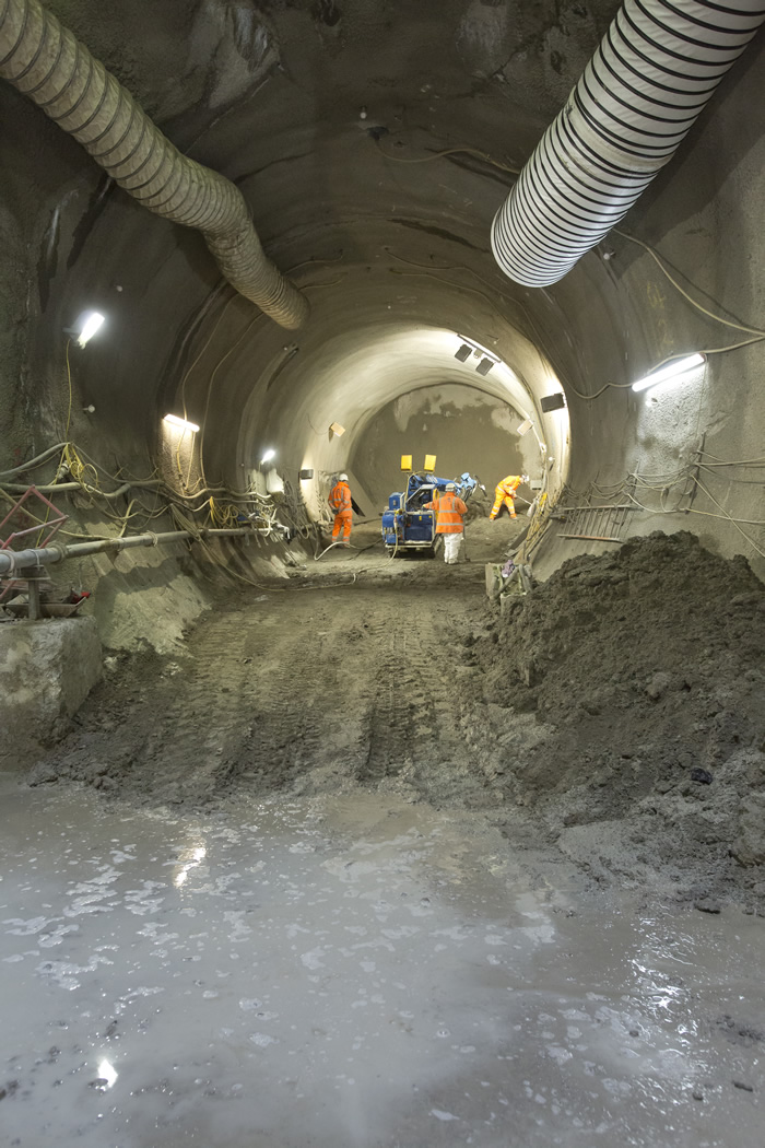 Tunnelling at Hanover Square