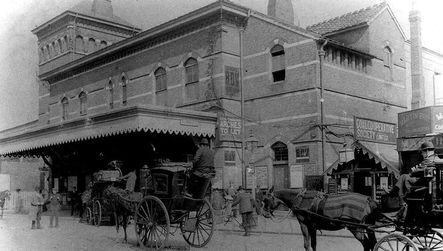 Herne Hill station C19th