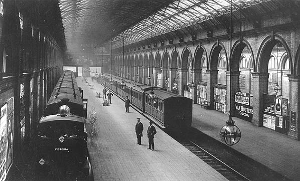 Crystal Palace High Level station 1908
