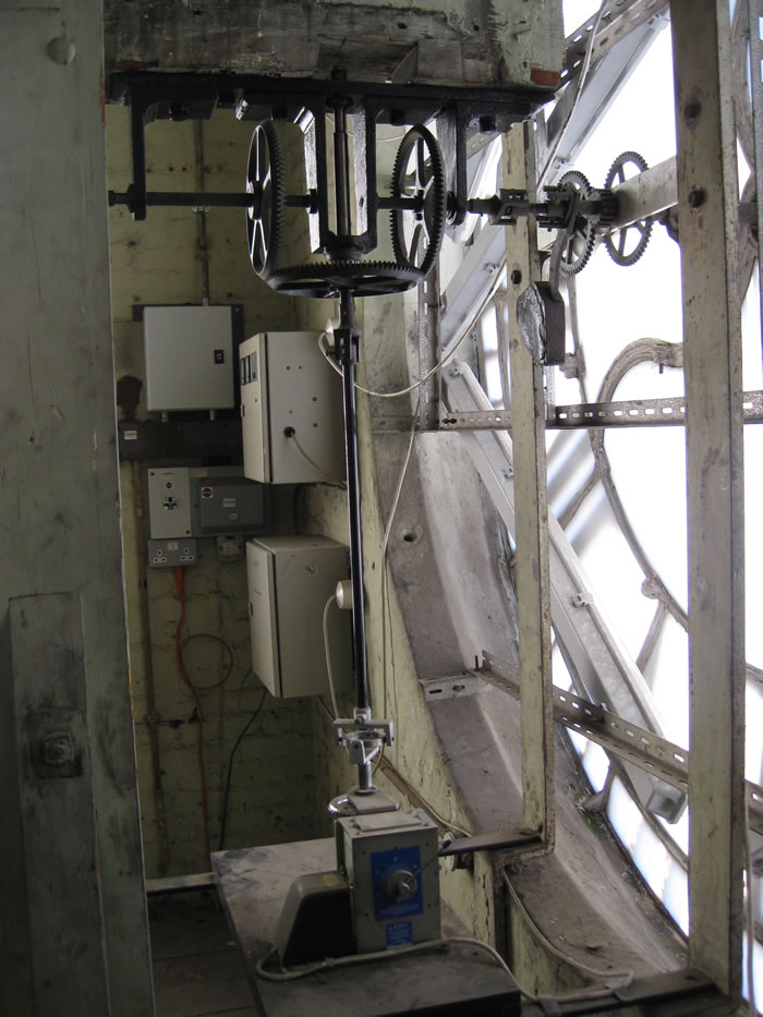 Another view of the mechanism