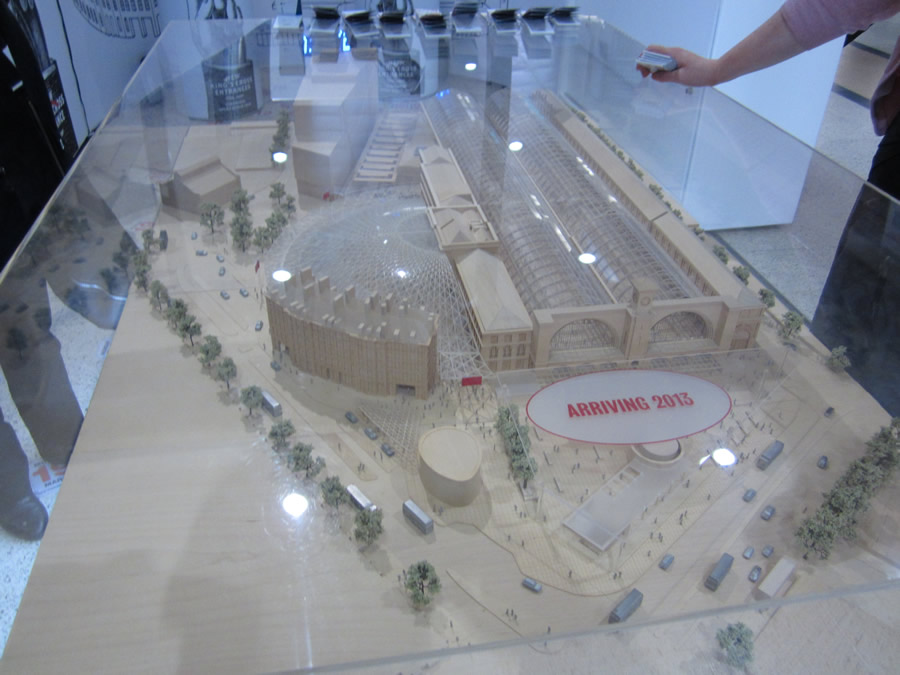 The Station model, showing the new Western Concourse