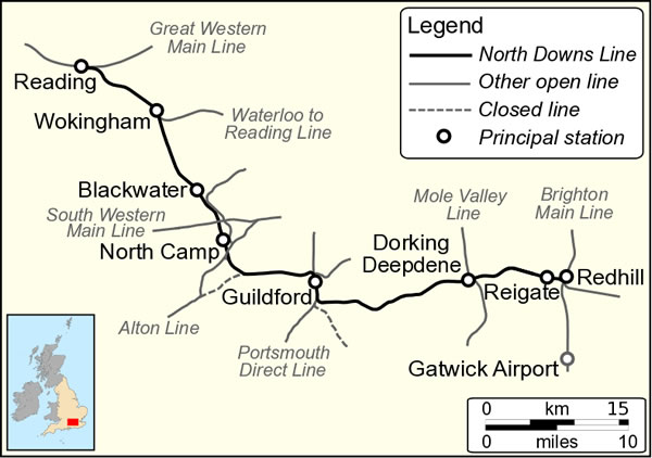 The North Downs Line