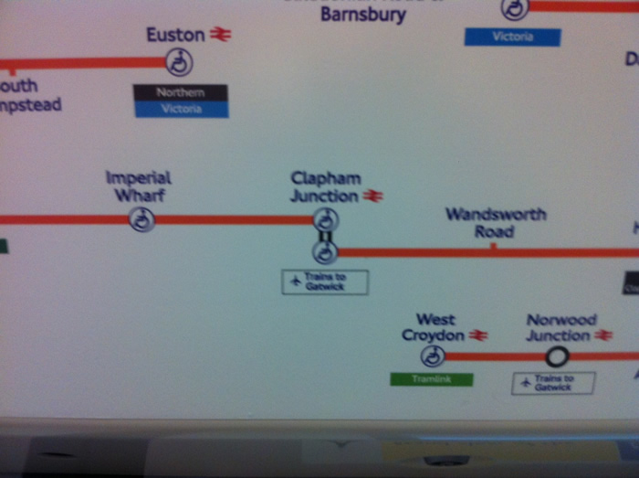 Clapham Junction, Overground Interchange