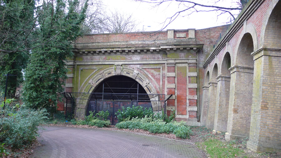 Paxton Tunnel, South Portal