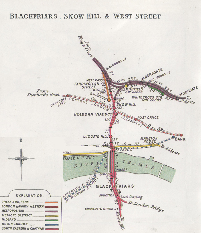 Extract from original RCH map, courtesy of Basilica Fields