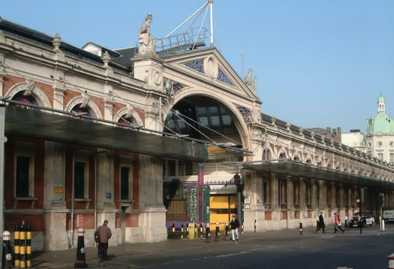 Smithfield Central Markets, beneath which lies the old GW Goods depot