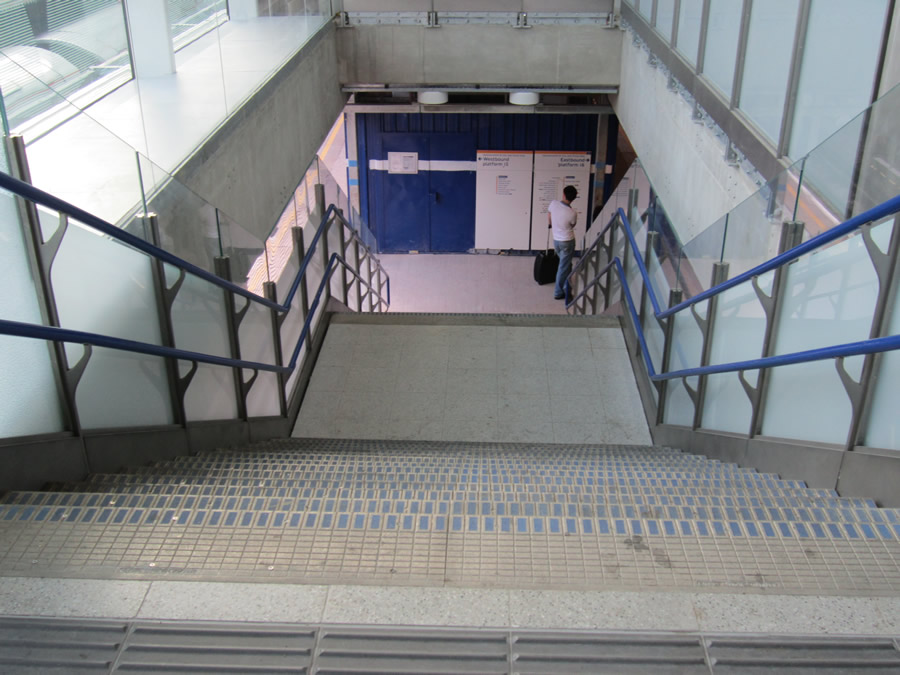 The improved stair access